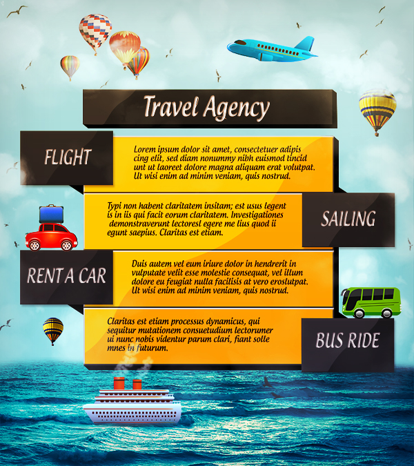 Travel Agency Advertisement Examples