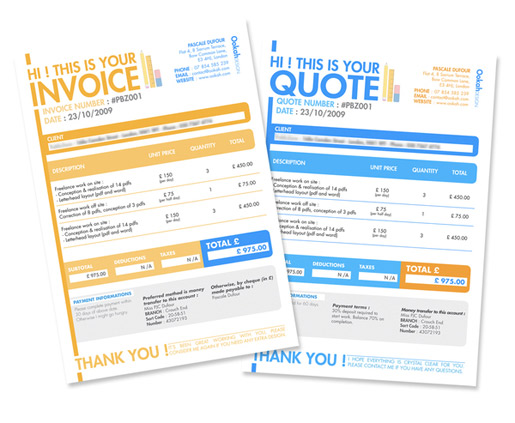 make sure your clients know that what they have received from you is actually an invoice