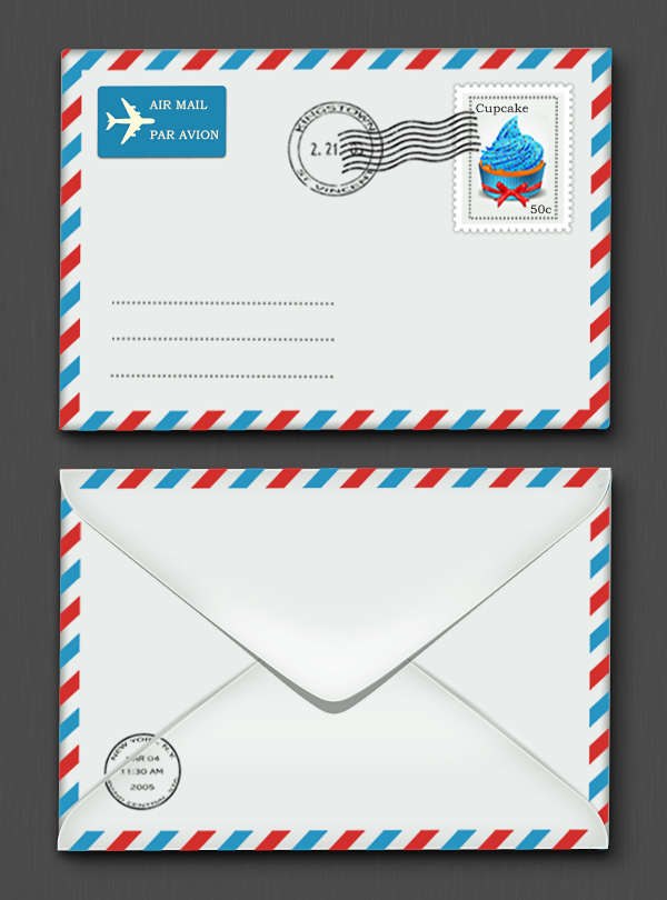 create a photorealistic letter envelope in photoshop sitepoint