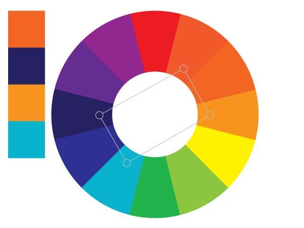 Как строить тетрадные цветовые схемы