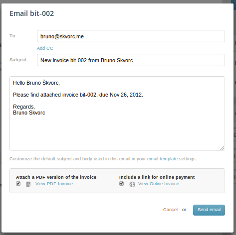 Generating, Sending And Paying An Invoice  How To Invoice Clients
