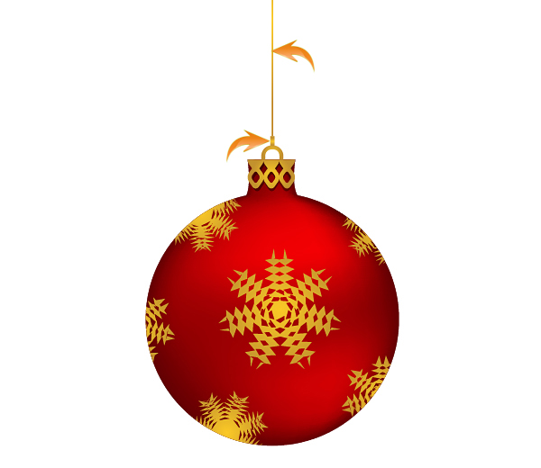 Create A Gorgeous Christmas Ornament Vector In Illustrator
