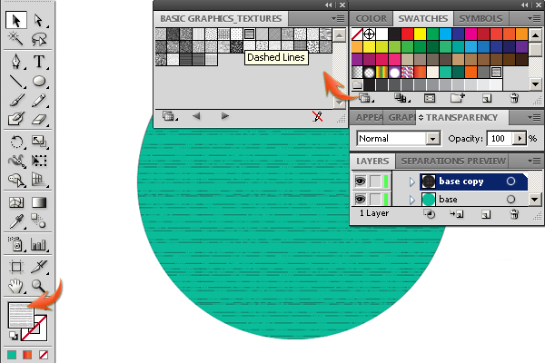 how to change point thickness on illustrator