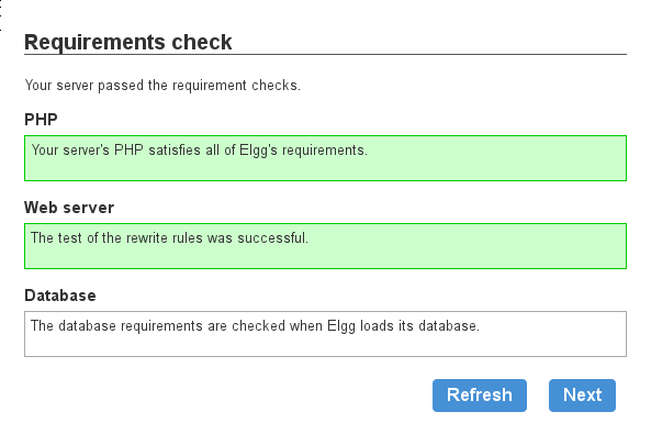Requirements Check