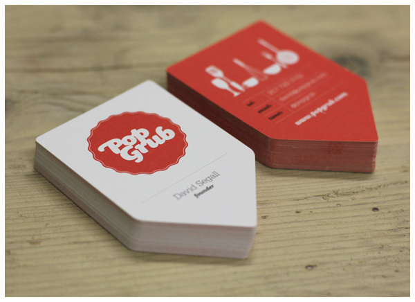 Ways to make your business cards stand out designfestival making the cards into the shape of the letters of your company is a great way to give your business name staying power with potential clients reheart Images