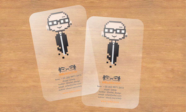 Clear - Make Your Business Cards Stand Out
