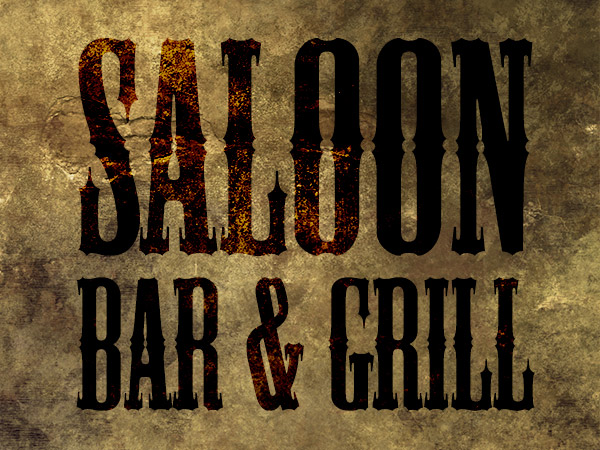 Saloon Fonts
