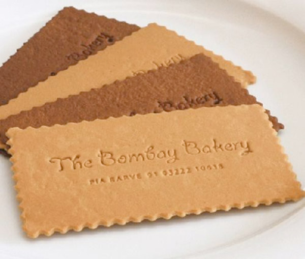 Food - Make Your Business Cards Stand Out