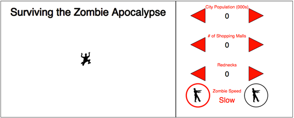 Completed Zombie Apocalypse Survival Predictor (thus far)