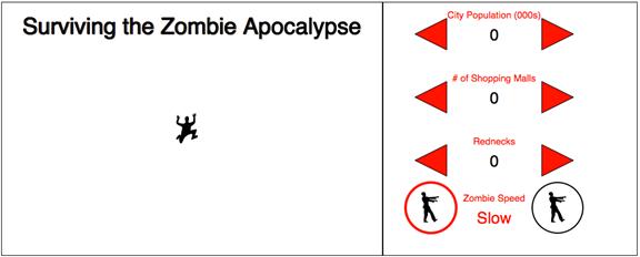 Completed Zombie Apocalypse Survival Predictor (thus far)