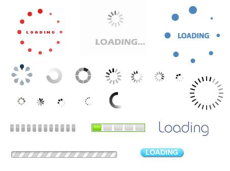 examples of loading animations