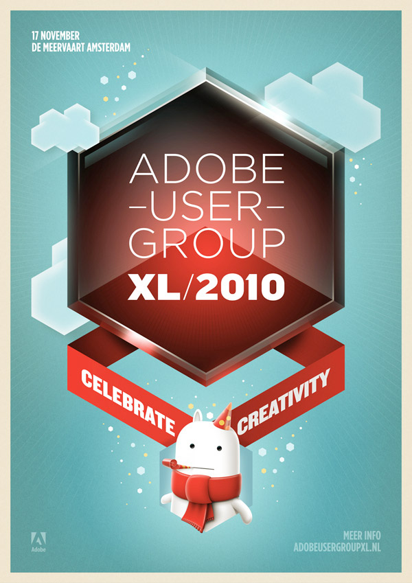 Adobe User Group Event Flyer