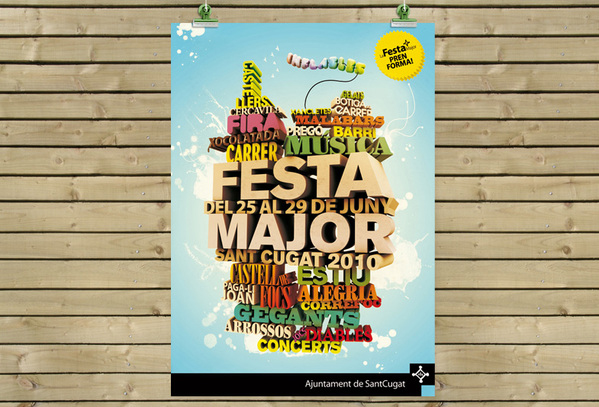 Festa Major Event Flyer