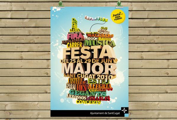 Festa Major Event Flyer