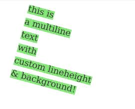 Text Background Effects