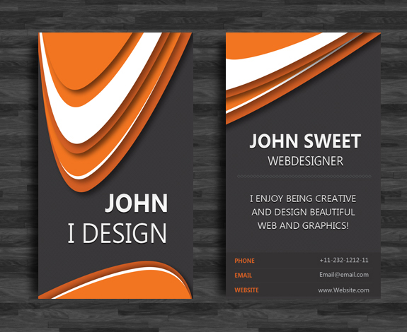 Create a sleek vertical business card in indesign sitepoint step 23 colourmoves