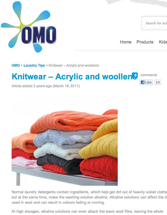 OMO woollens