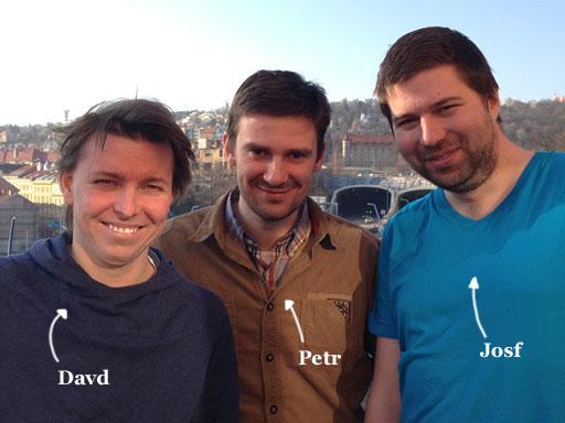 Davd, Petr and Josf