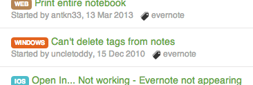 Evernoteforum