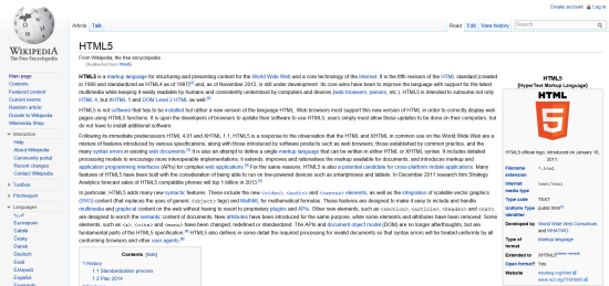 Wikipedia on a 1920-px wide monitor