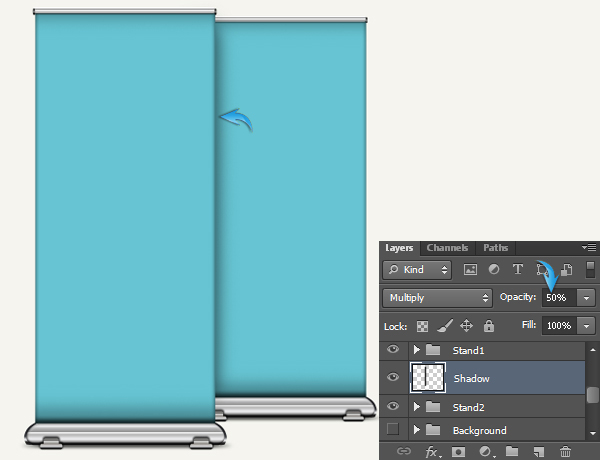 Banner Stand Mockup