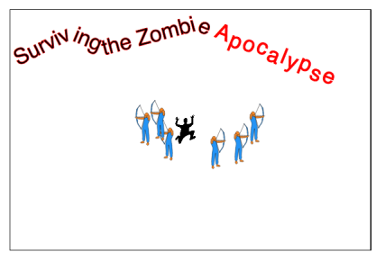 Figure 2. Dynamically Added Zombie Defense Team
