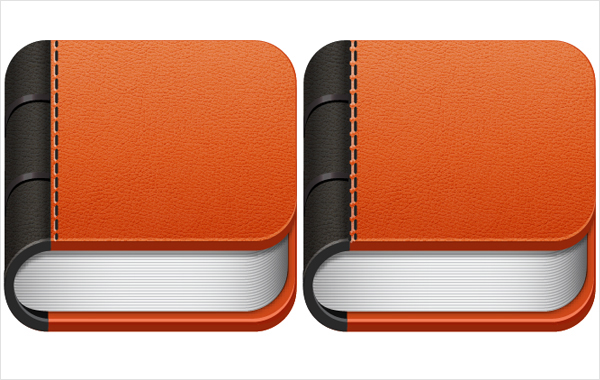 How To Make A Book Cover App : Create a sleek book app icon in illustrator — sitepoint
