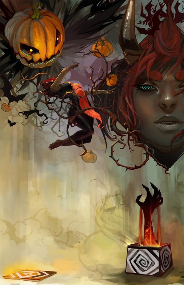 22 Spooky Halloween Inspired Horror Designs