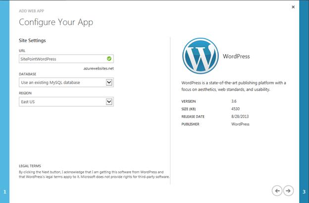 configure your app