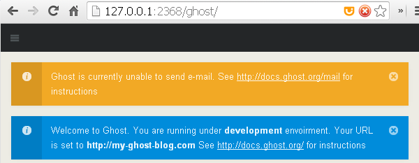 Ghost notifications