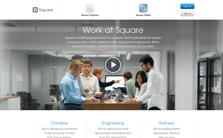 Square: Careers