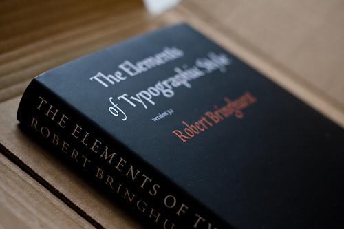TheElementsOfTypographicStyle