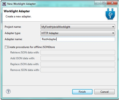 HTTP Worklight adapter