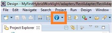 Worklight adapter wizard
