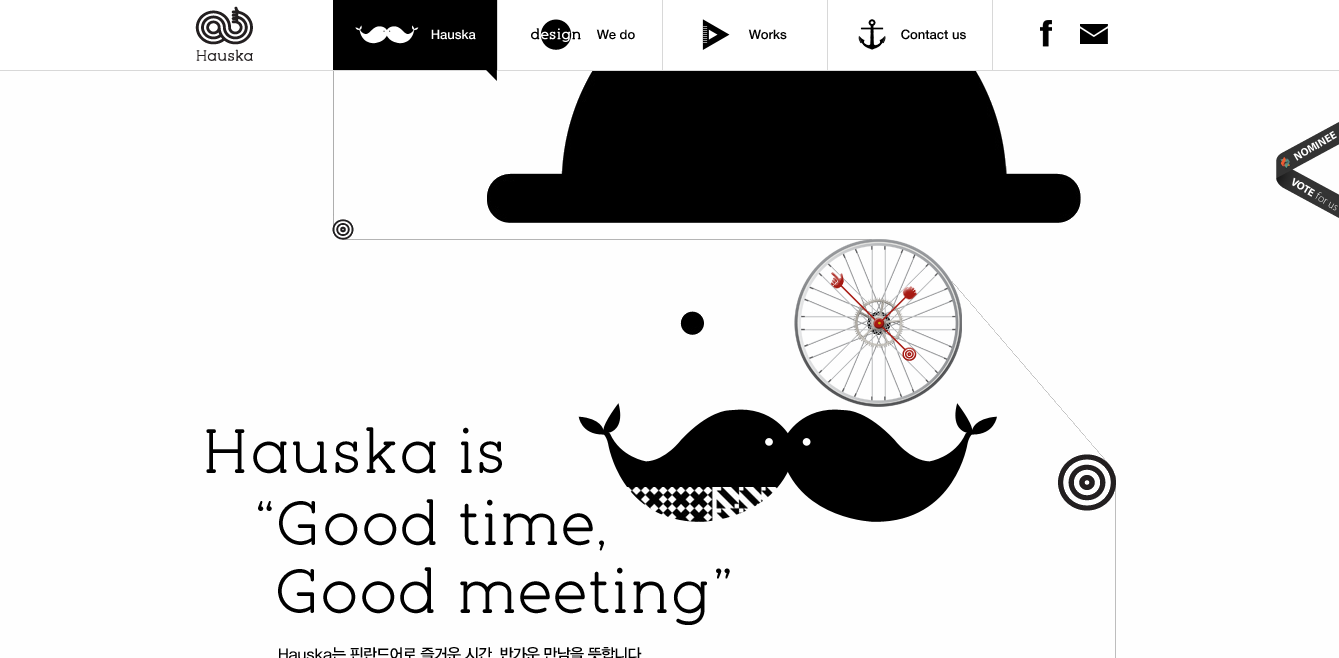 Hauska homepage
