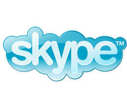 The Skype logo circa 2006