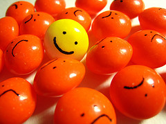 Smiley face smarties