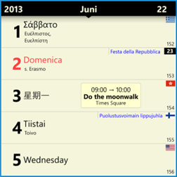 Chronos Calendar is the best calendar app available on the Windows Phone store