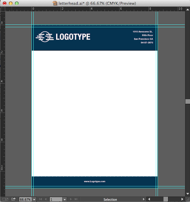Convert Your Design into a Microsoft Word Letterhead Template – Letterhead Format in Word