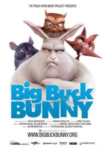 Big Buck Bunny: Created entirely in Blender.