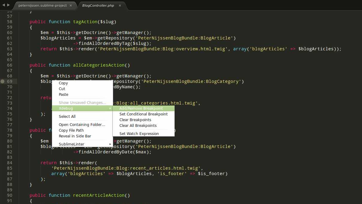 Debugging with Xdebug and Sublime Text 3 — SitePoint