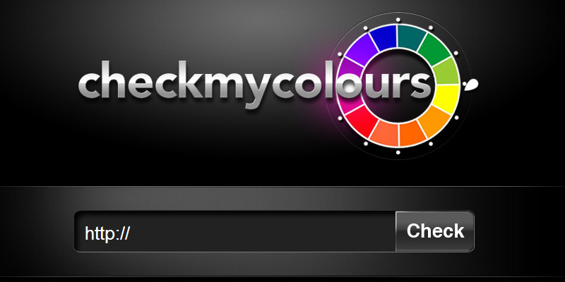 Check my colors contrast tool