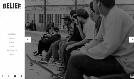 Website: Belief Skateboards