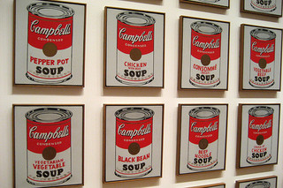 Campbell's Soup Tin Paintings
