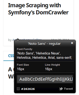 FontInspector