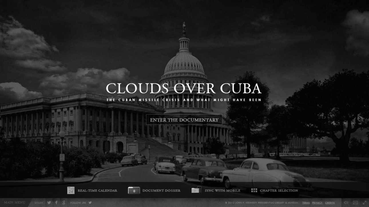 Website: Clouds Over Cuba