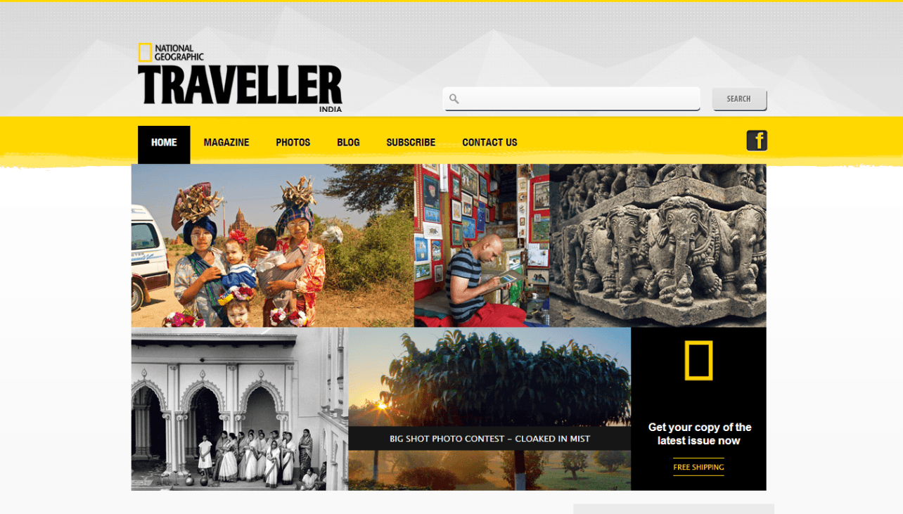 Website: NatGeo Traveller