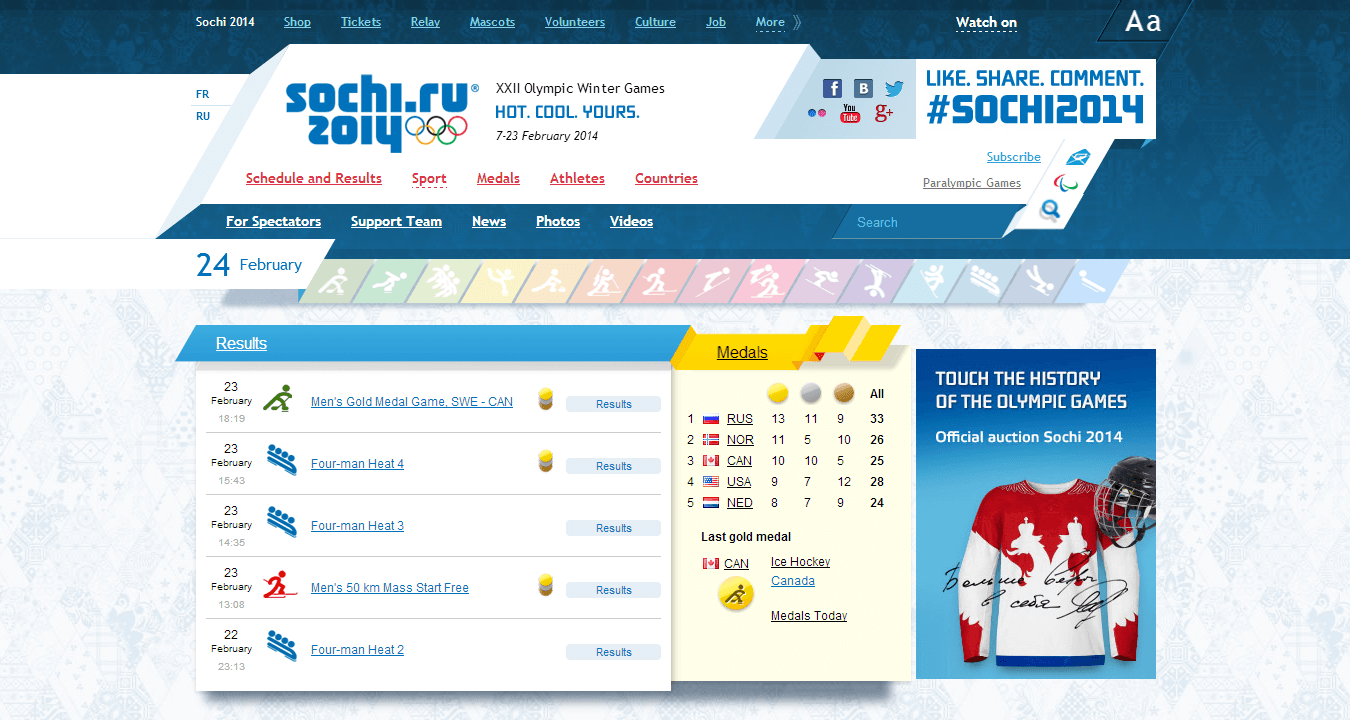 Website: Sochi