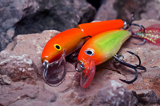 Photo: Two fish lures by Chau kar