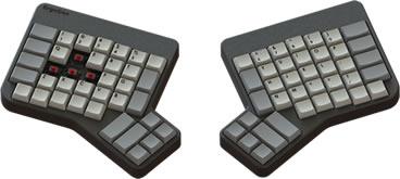 The Ergodox Split Keyboard